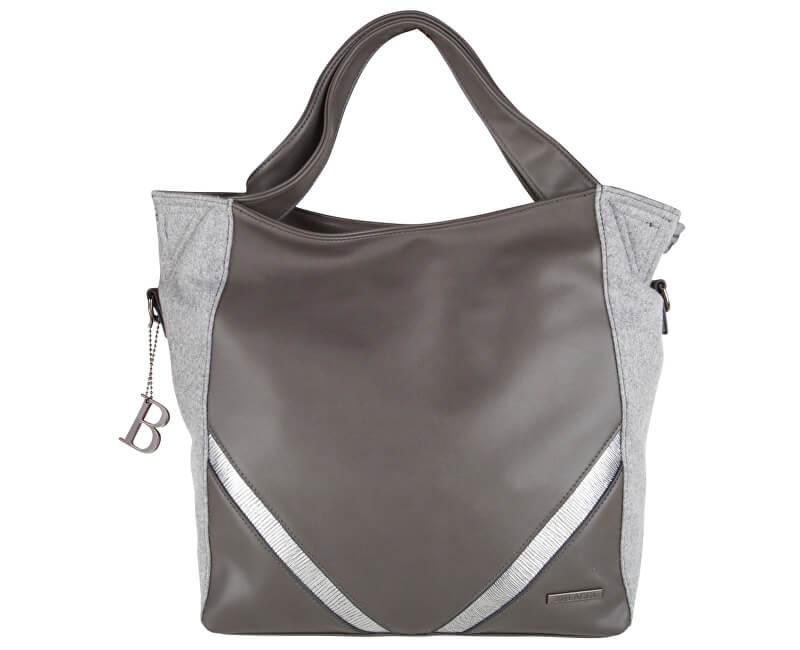 Bulaggi Elegantní kabelka Poynter Shoulderbag Grey 30379-19