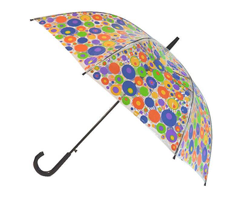 94834f936 Blooming Brollies Dámsky priehľadný palicový dáždnik Spots Clear CCSSP  Novinka