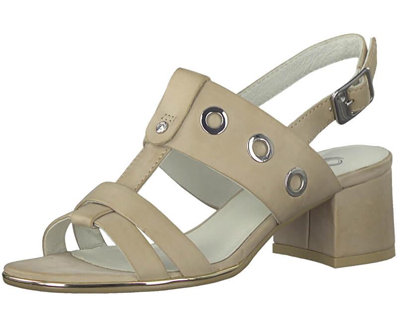 BE NATURAL by Jana Dámské sandále 8-8-28242-20-400 Beige