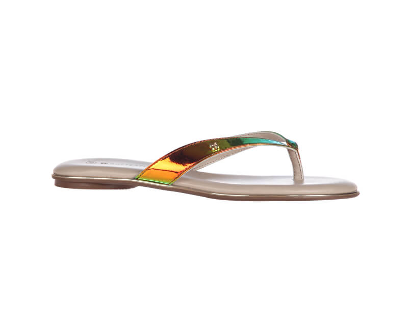 763b80b6314514 Butterfly Twists Folding Flip Flops Lola Holographic Snake BT27-003-313 Sale