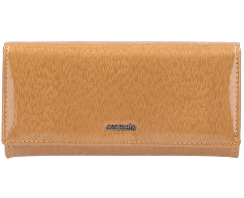 Carmelo Dámska kožená peňaženka 2110H Zlatá