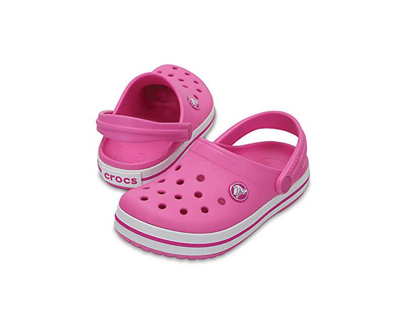 Crocs Detské papuče Crocband Clog Party Pink 204537-6U9