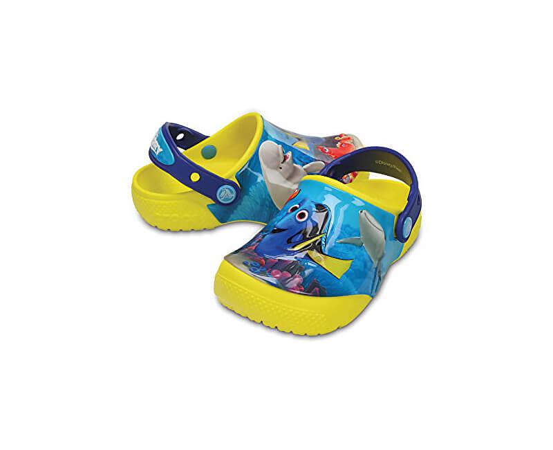 Crocs Dětské pantofle CrocsFunLab Dory Lemon 204453-7C1
