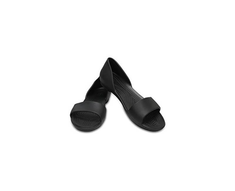 Crocs Dámské baleríny Crocs Lina Dorsay Black 204361-0C4  3f25787657