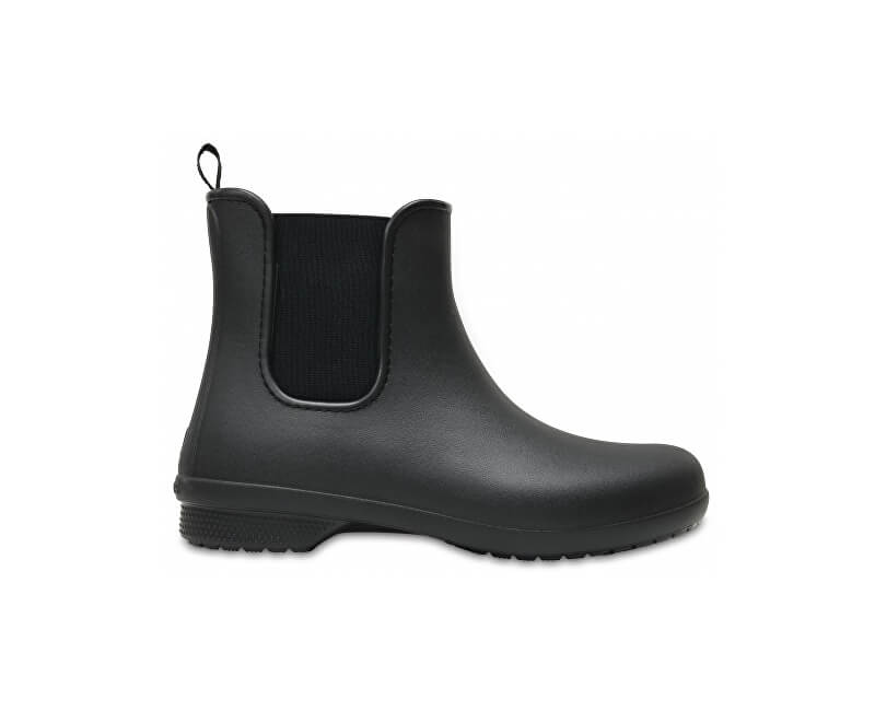 Crocs Dámské holínky Crocs Freesail Chelsea Boot W Black Black 204630-060  ... 27eee83a55
