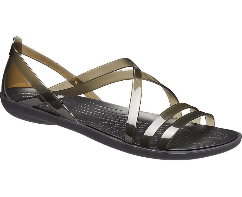 d79cf9780cf8 Crocs Damen Sandaletten Isabella Strappy Sandal Black 204915-001 ...