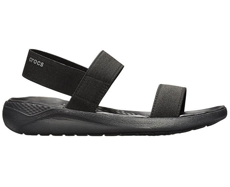 Crocs Dámske sandále LiterRide Sandal W Black/Black 205106-060