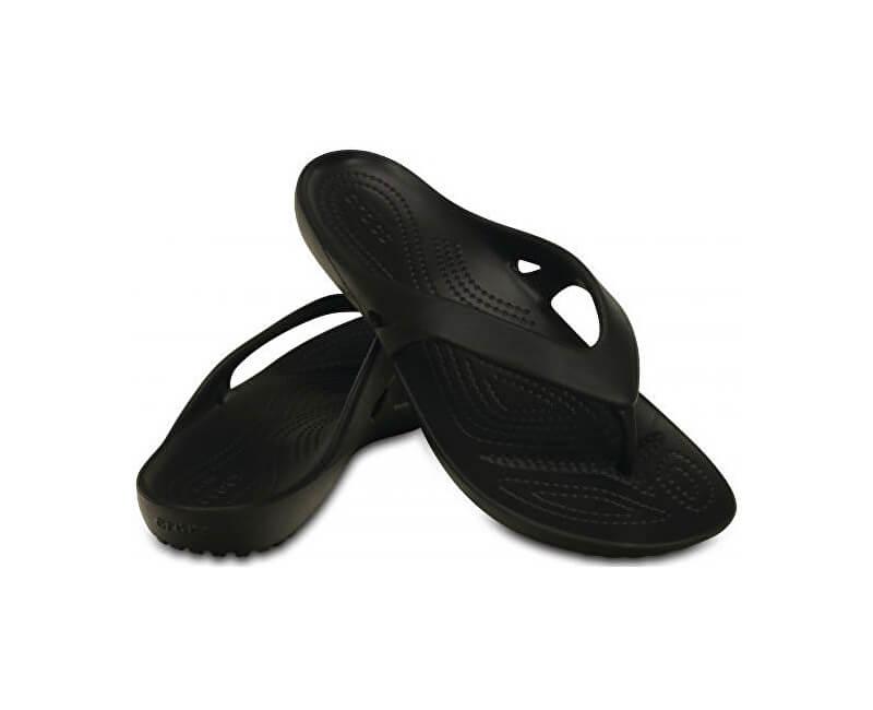 928d5b8165a Crocs Dámské žabky Kadee II Flip Black 202492-001