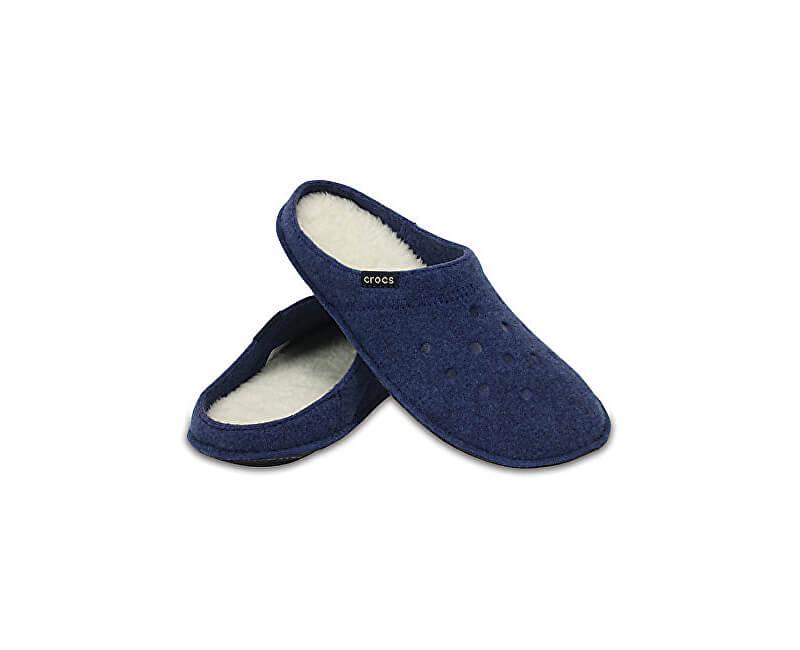 Crocs Pantofle Classic Slipper Cerulean Blue/Oatmeal 203600-4GD