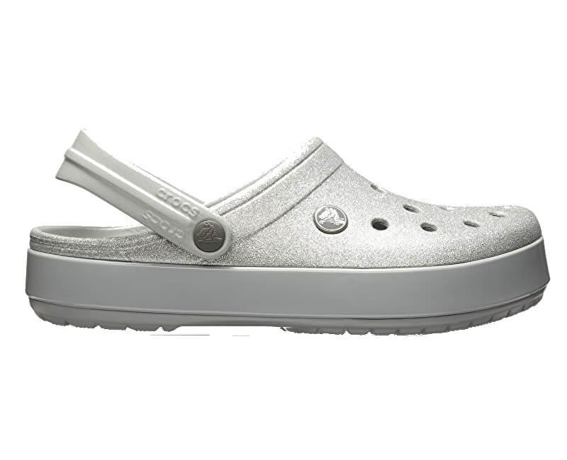 Crocs Pantofle Crocband Glitter Clog 205419-040 ... 24ec7de856