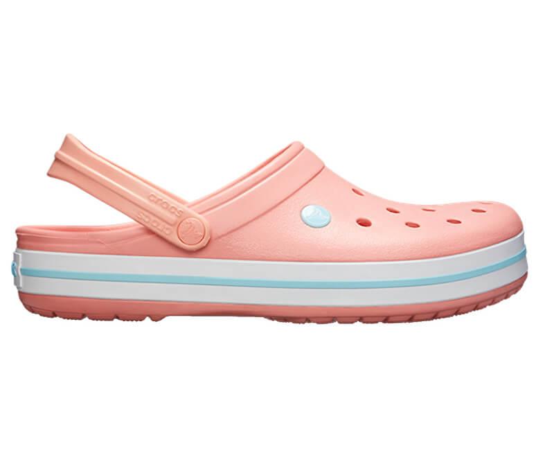 49b09220e6 Crocs Šľapky Crocband Melon   Ice blue 11016-7H5