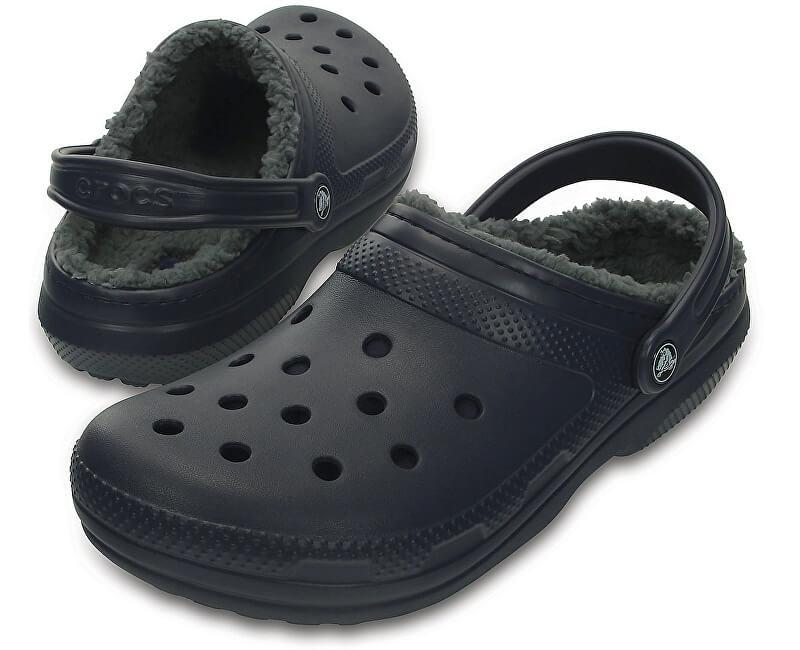 Crocs Pantofle Crocs Winter Clog Navy/Charcoal 203766-459