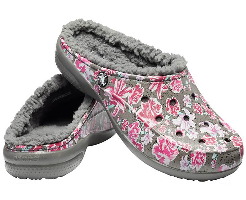 Crocs Pantofle Women`s Freesail Graphic Fuzz Lined Clog 203762-97M
