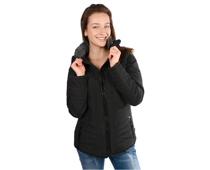 ff087d8d26 Cars Jeans Dámská černá bunda Demelza Black 4256901 Doprava ...