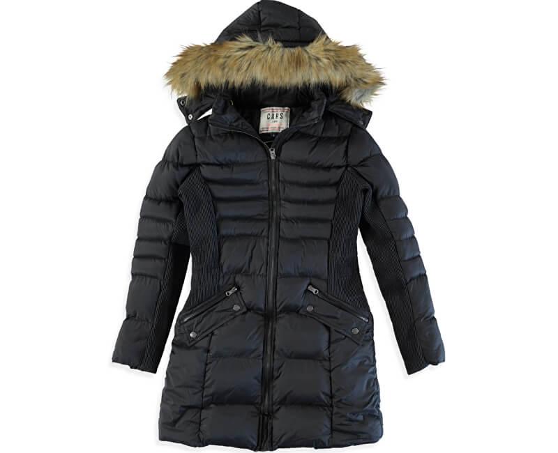 Cars Jeans Dámská černá bunda Sabine Black 4857201