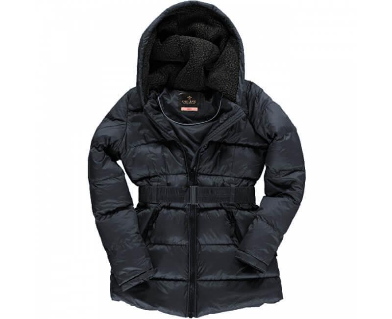 991fbc5c9f Cars Jeans Női sötétszürke kabát Marta Antra 4306917 Ingyenes ...