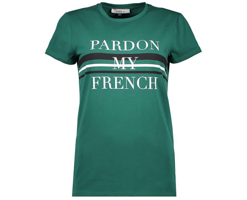 Cars Jeans Dámske tričko Fanette Green 4036155