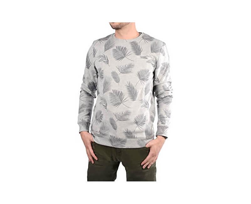Cars Jeans Tricoul bărbătesc de culoare gri cu imprimare Paro Grey are 4158753