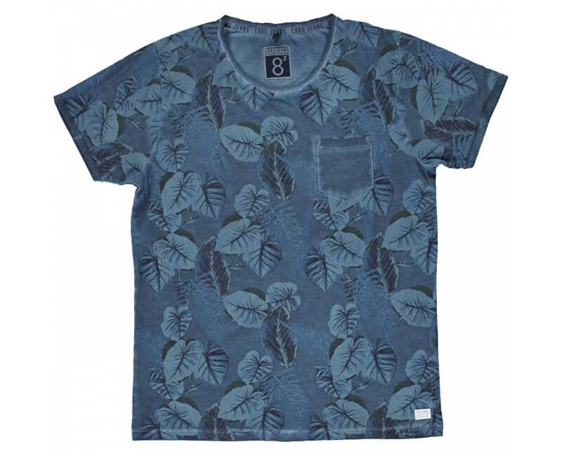 Cars Jeans Tricou pentru bărbați Baro Navy 4278212
