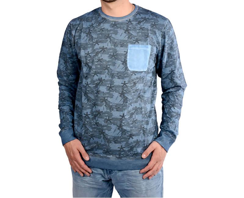a49ac4cbdf2e8 Cars Jeans Pánsky modrý sveter Piazzo Indiansteel 4407249 | Vivantis ...