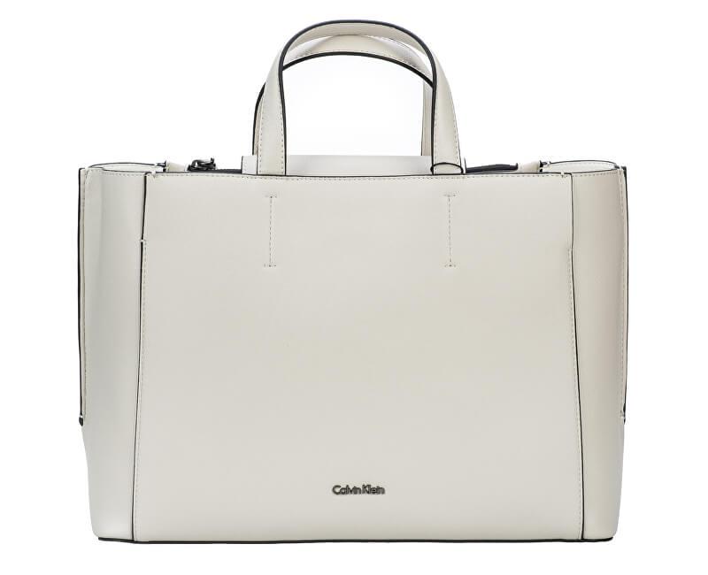 09657522f5a0 Calvin Klein Dámská kabelka Metropolitan Tote Cement Off White ...