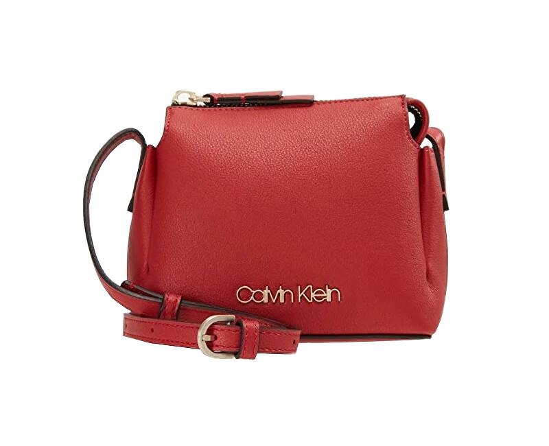 Calvin Klein Dámská kabelka Step Up Small Crossbody Red Doprava ... 4cfc3ae87cd