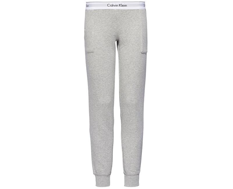 Calvin Klein Dámské kalhoty Modern Cotton Line Extension Bottom Pant Jogger QS5716E-020 Grey Heather