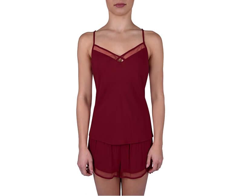 Calvin Klein Dámske pyžamo Fashion Gift Set QS6119E -ZB7 Ember Blaze