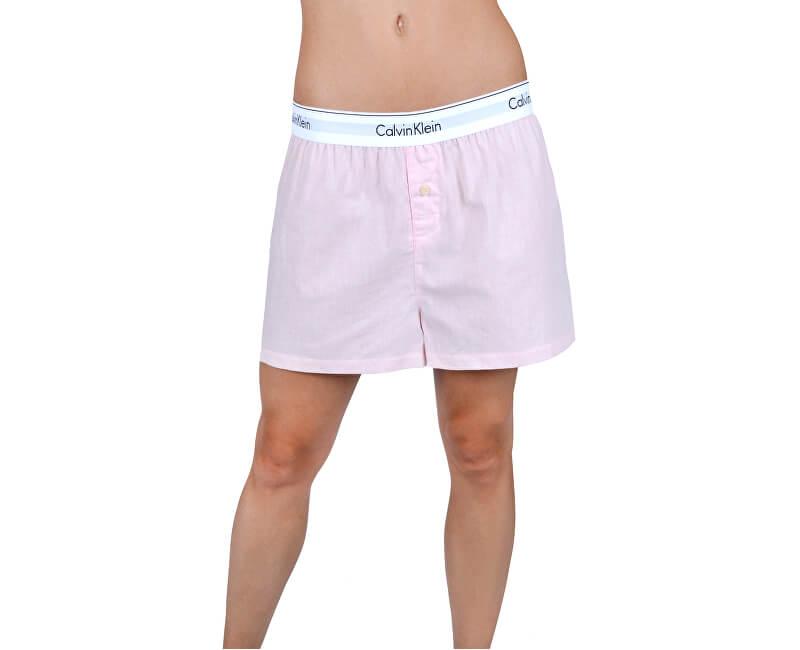 9227cde62e Calvin Klein Női pizsama - rövidnadrág Short Nymphs Thigh Heather  QS6080E-PHY