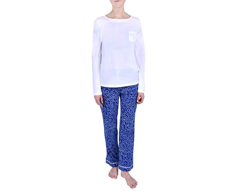 9e843f8f2c Calvin Klein Dámske pyžamo Pj In A Box White w layered starburst print  QS6141E- ...