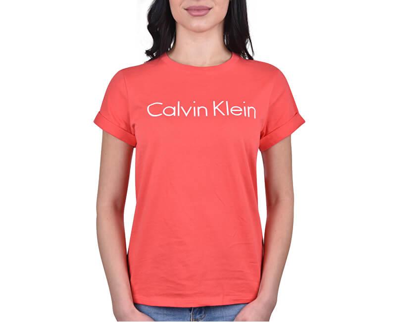 8d3a3a72fc Calvin Klein Dámske tričko SS Top Pink mango QS5789E -WM1