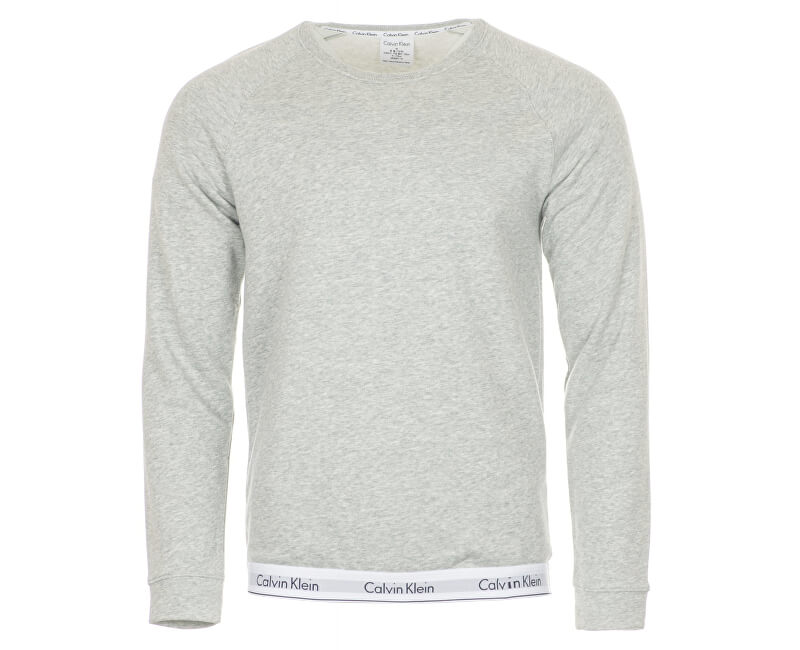 70ef47ff74 Calvin Klein Pánska mikina Sweatshirt NM1359E-080 Grey Heather ...