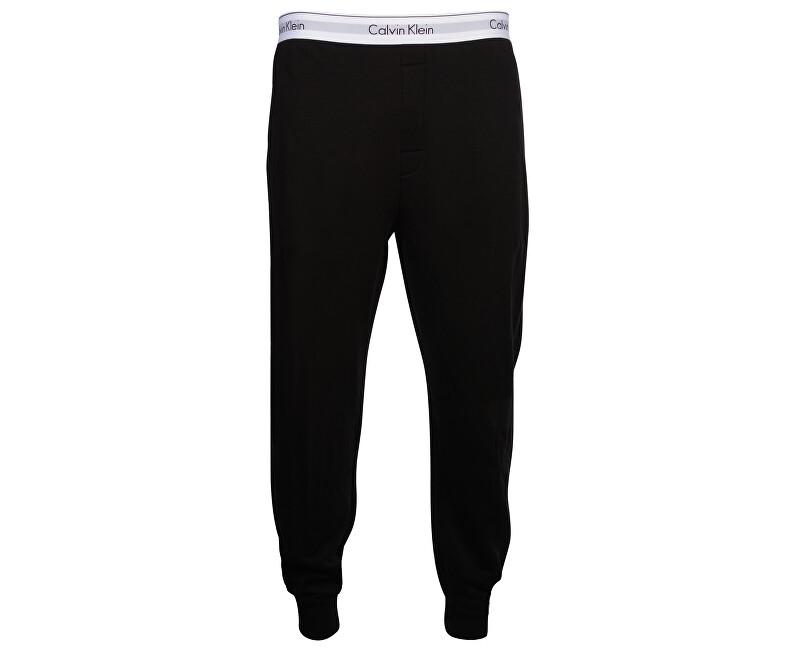 Calvin Klein Pantaloni pentru bărbați Modern Cotton Stretch Lounge Jogger NM1356E-001 Black