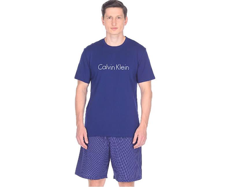 Calvin Klein Pánské pyžamo PJ Short W S/S Crew NM1384E-GMT