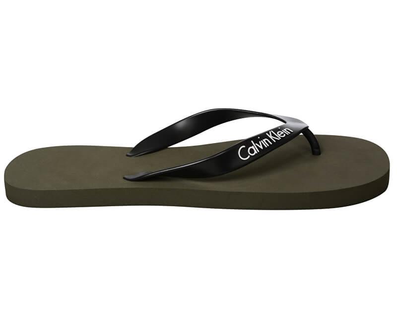 ecfa187c7dcc Calvin Klein Pánské žabky FF Sandals KM0KM00210 314 ...