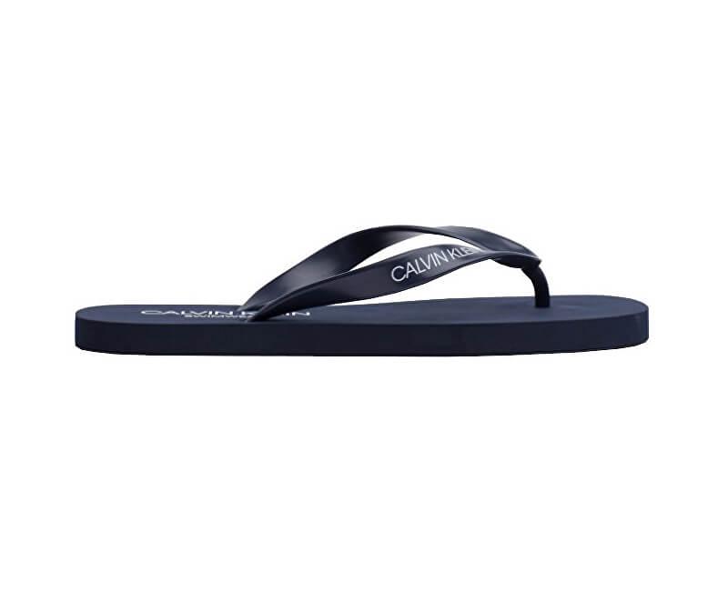 e6f7d5551b79 Calvin Klein Pánské žabky FF Sandals KM0KM00341-445 Blue Shadow ...