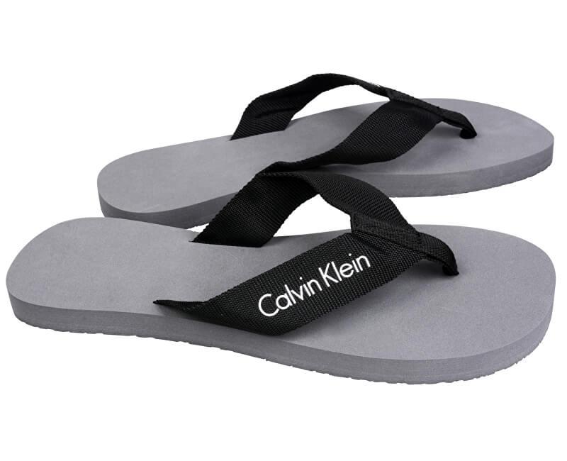 61b0deab265a Calvin Klein Pánské žabky FF Webbing Sandals KM0KM00207 ...