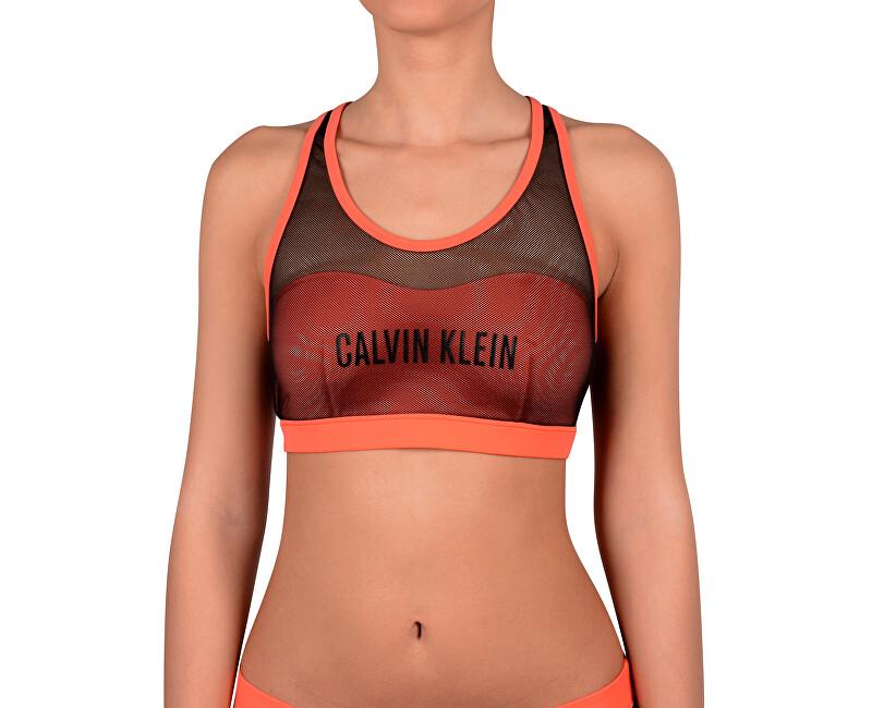 428a636b8 Calvin Klein Sportovní plavková podprsenka Bralette KW0KW00236 Hot Coral ...
