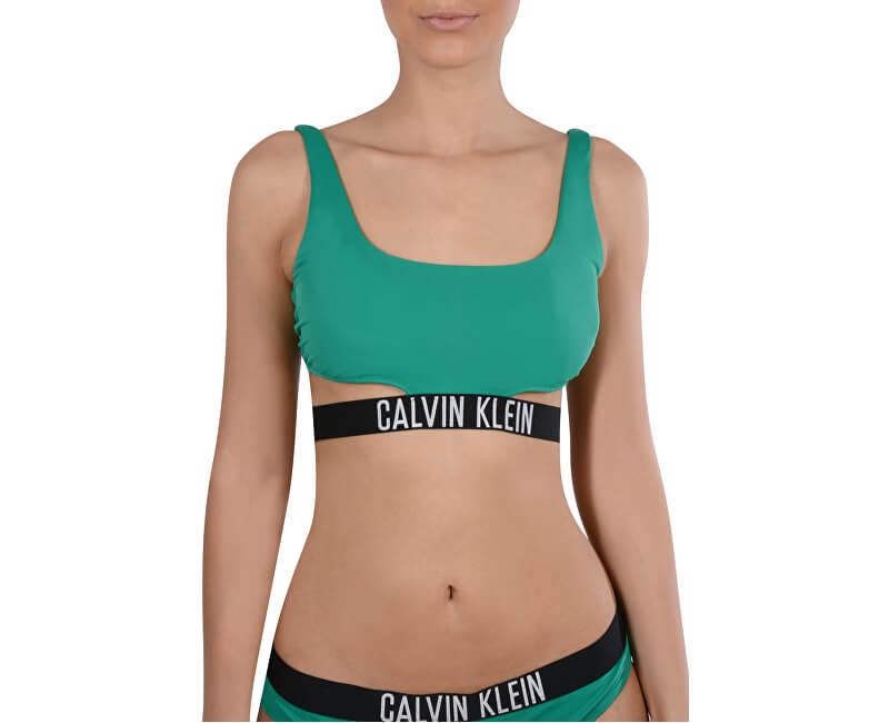 e48c9d9b8 Calvin Klein Sportovní plavková podprsenka Strap Bralette RP KW0KW00212-012