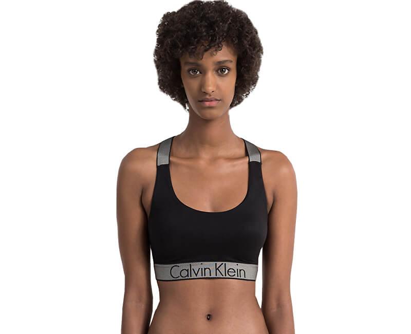 Calvin Klein Sportovní podprsenka Bralette QF4053E-001 Black