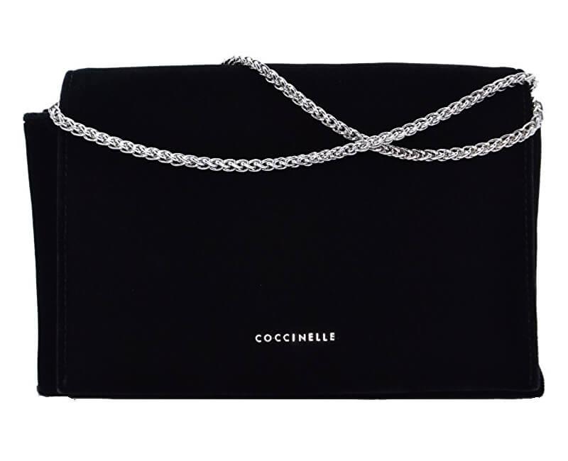 5d9f82744f Coccinelle Luxusná kabelka Elise Velvet AA7120101001 Doprava ZDARMA ...