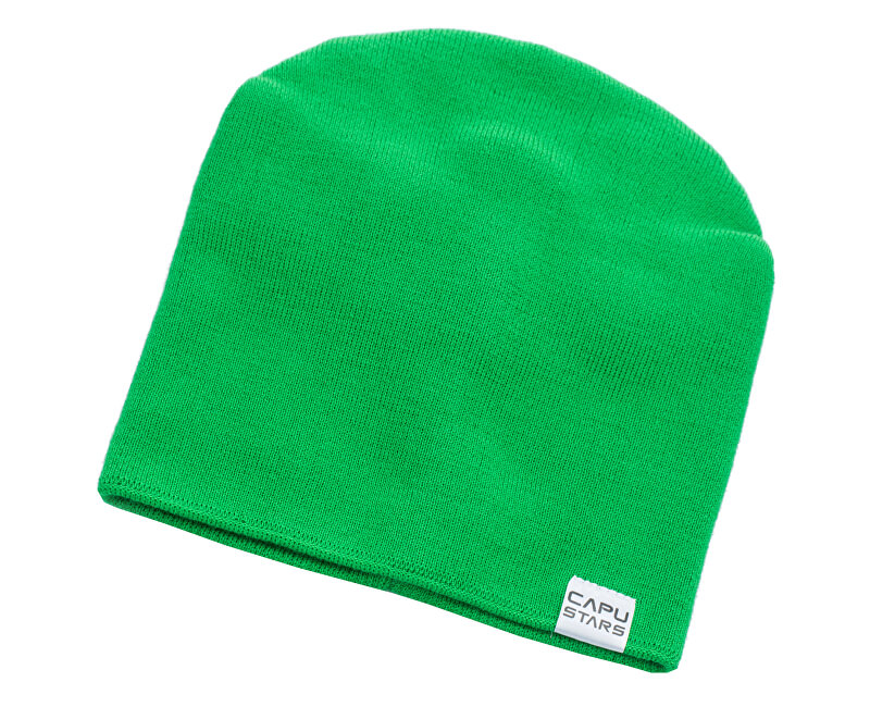 CAPU Zimné čiapky 1737-F Green