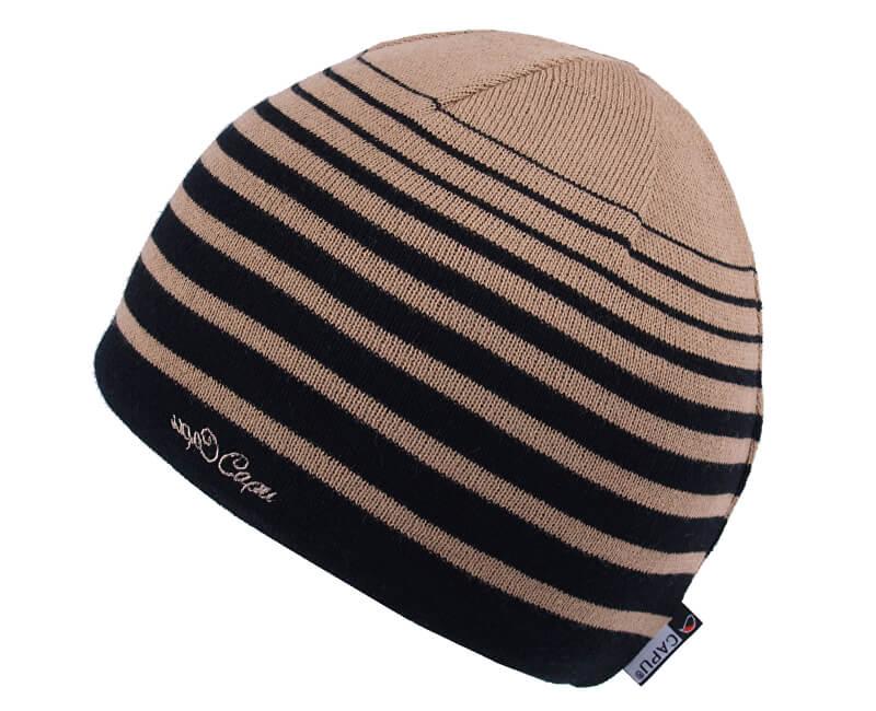 CAPU Zimní čepice Brown 1652-A