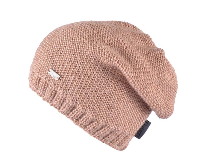CAPU Zimní čepice 371-B Brown