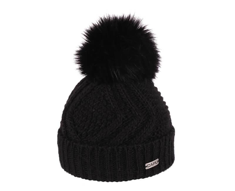 CAPU Zimní čepice 385-A Black Novinka 3f692405fa