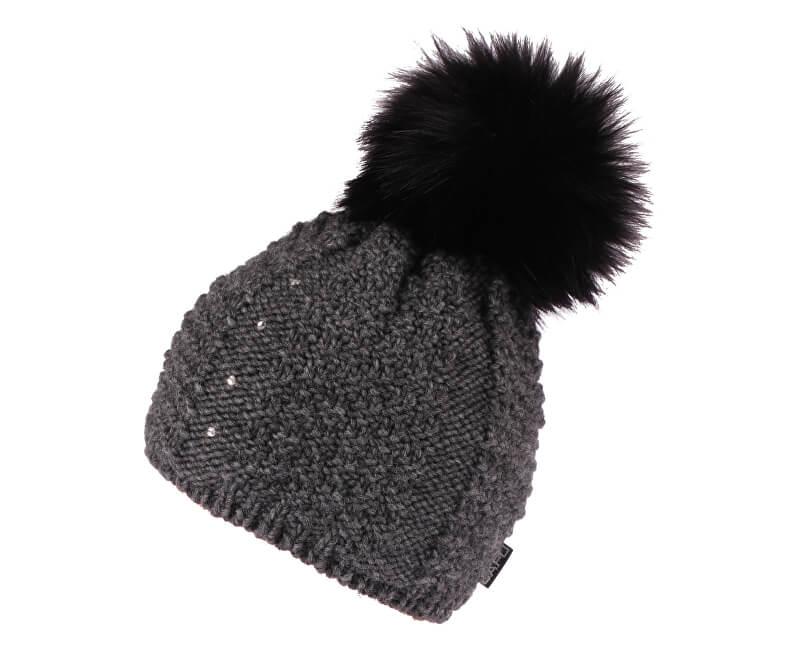 CAPU Zimní čepice 381-A Dark Grey