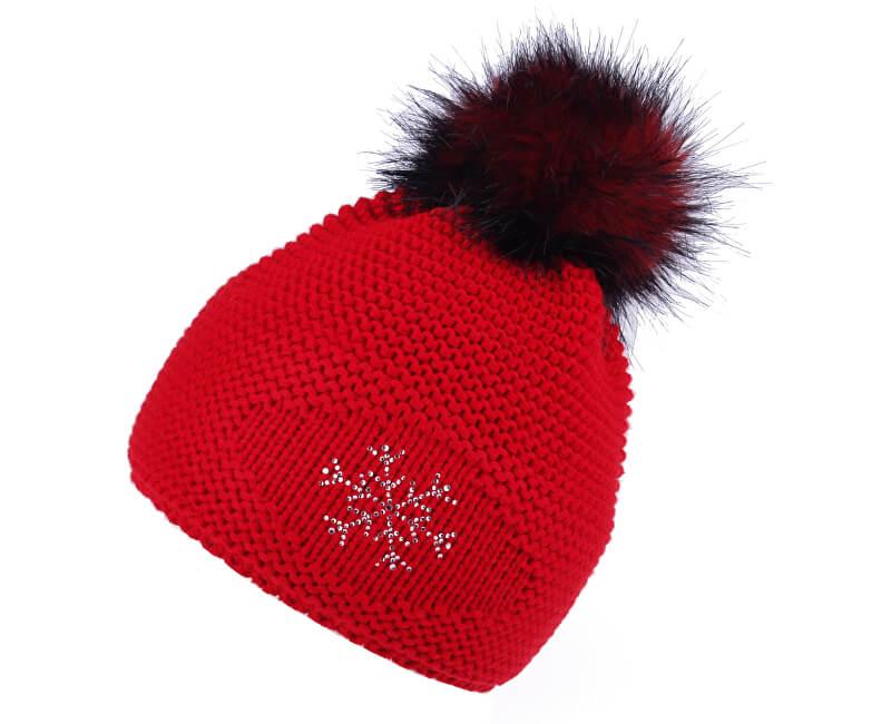 CAPU Zimní čepice 347-F Red