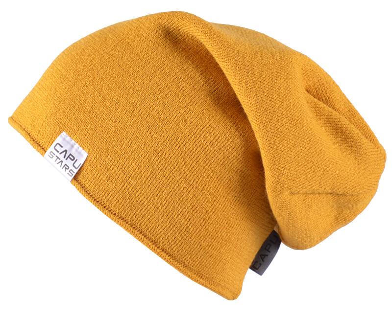 CAPU Zimní čepice 1737-E Yellow