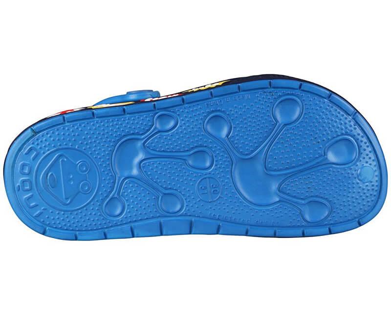 Coqui Dětské pantofle Froggy 8802 Sea blue Navy 102341. Předchozí  Další   3b214f564d