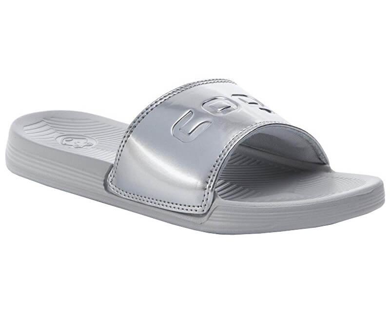 939087fba30be Coqui Dámske šľapky Sana Khaki Grey / Silver 6343-100-4699 ...